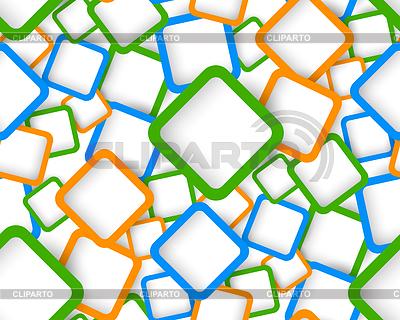 Seamless pattern with squares | Klipart wektorowy |ID 3753744