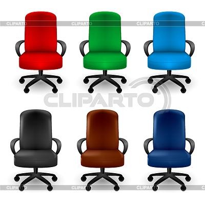 사무실 의자 | 벡터 클립 아트 |ID 3807668