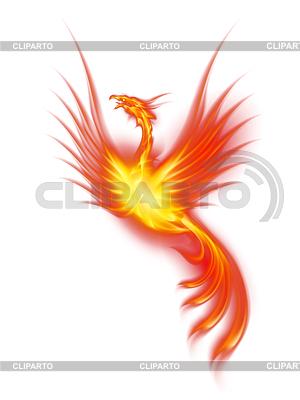 Brennende Phoenix   Illustration mit hoher Auflösung  ID 3807932