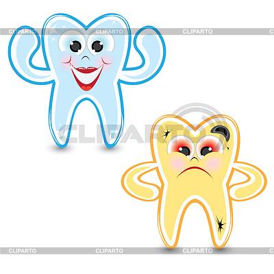 рисунок зуба: