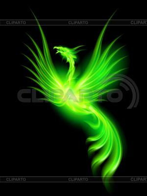 Feuer Phoenix | Stock Vektorgrafik |ID 4012329
