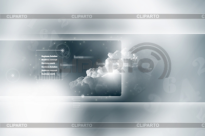 Business-Hintergrund mit Globe von Erde | Illustration mit hoher Auflösung |ID 4073168