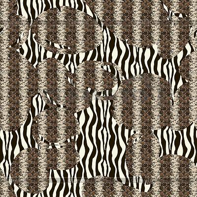 无缝图案纹理 | 向量插图 |ID 3848959