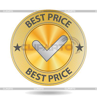 Best-Preis-Sign | Stock Vektorgrafik |ID 3821198