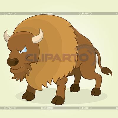 Bison | Illustration mit hoher Auflösung |ID 3839277