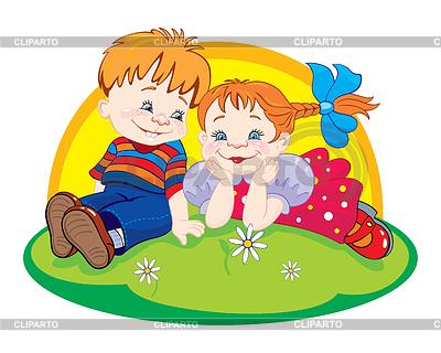 ... дети | Векторный клипарт | CLIPARTO: клипарт.рф/изображение/3813598-играющие...