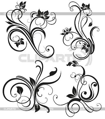Vektor vintage floral Ornament | Stock Vektorgrafik |ID 3742103