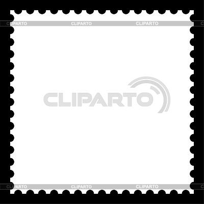 흰색 빈 우표 | 벡터 클립 아트 |ID 3728718
