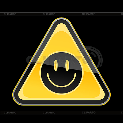 warning signs and symbols black and white Yellow Warning Sign With   Warning Signs And Symbols Black And White
