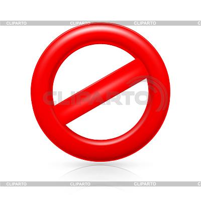 Nicht Warnzeichen | Stock Vektorgrafik |ID 3771707