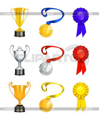 Trophy, набор иконок | Векторный клипарт |ID 3772773
