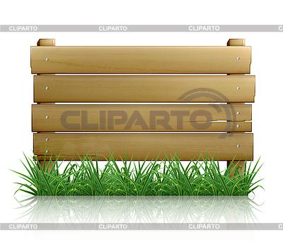 Drewniana deska wiadomość, 10eps | Klipart wektorowy |ID 3774565