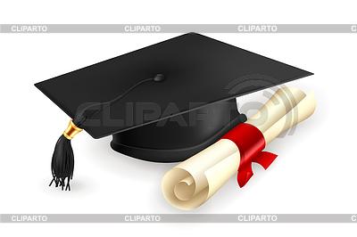 Kasztana i dyplom | Klipart wektorowy |ID 3775584