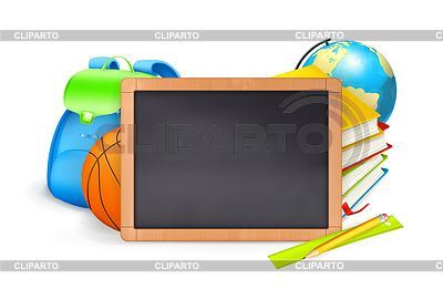 Zurück zur Schule, baner | Stock Vektorgrafik |ID 3775956