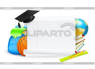 Schule banner | Stock Vektorgrafik |ID 3775978