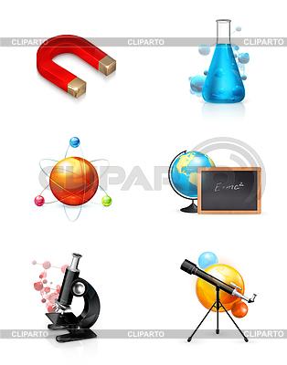 Science, set, icon | Klipart wektorowy |ID 3776782