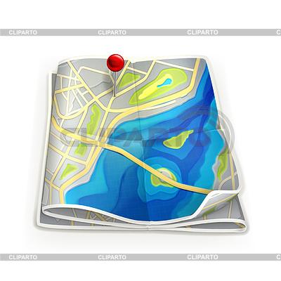 Stadtkarte | Stock Vektorgrafik |ID 3777057