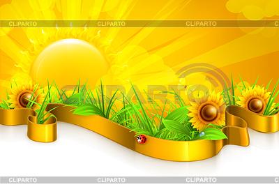 Landschaft Hintergrund   Stock Vektorgrafik  ID 3777919