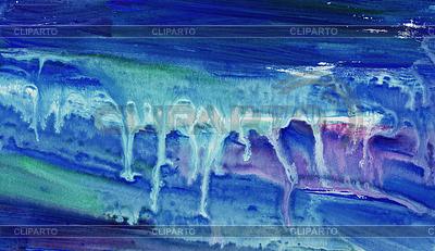 Красочные цвета воды, льющейся на бумаге | Иллюстрация большого размера |ID 3788964