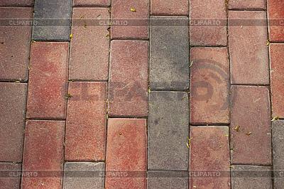 Rote Steinplasterung | Foto mit hoher Auflösung |ID 3779315