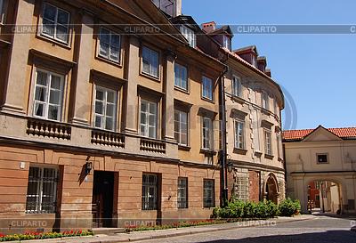 Straße in der Altstadt in Warschau, | Foto mit hoher Auflösung |ID 3808569