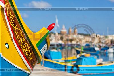 Malta - Marsaxlockk | Foto stockowe wysokiej rozdzielczości |ID 3838215