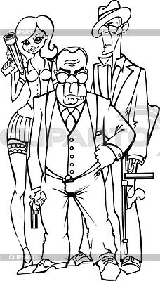 Gangsters | Stock Vektorgrafik |ID 3839028
