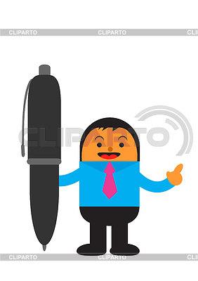 Geschäftsmann in Aktivität | Stock Vektorgrafik |ID 3905509