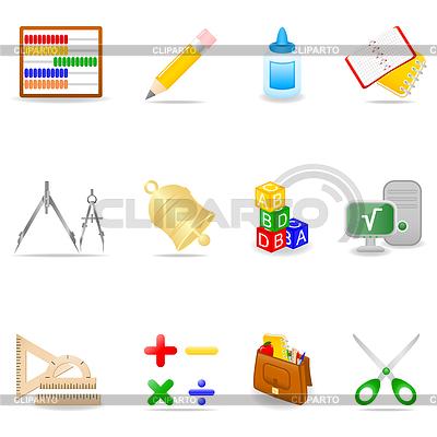 Education icon set | Stock Vektorgrafik |ID 3867538