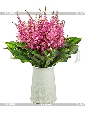 Фото цветы в вазе на зеленом фоне 69