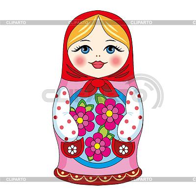 Russische Puppe | Stock Vektorgrafik |ID 3905570