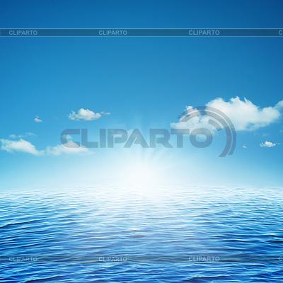 Aufgehenden Sonne. abstrakter natürlichen Hintergrund | Foto mit hoher Auflösung |ID 3914149
