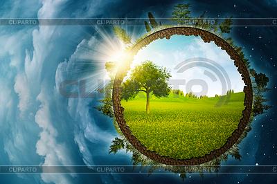 Infinity wewnątrz, abstrakt środowiskowe | Foto stockowe wysokiej rozdzielczości |ID 3914848