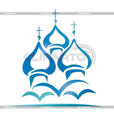 Russisch-orthodoxen Kirche | Stock Vektorgrafik |ID 3923507