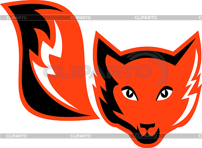 Red Fox Schwanz icon | Stock Vektorgrafik |ID 3977286