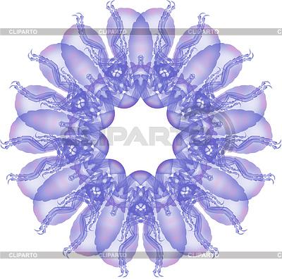 Fraktal squidtail mehrere | Illustration mit hoher Auflösung |ID 3980046