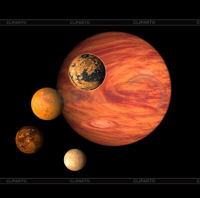 Planeten Jupiter | Illustration mit hoher Auflösung |ID 3980069
