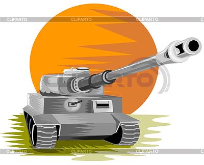 세계 대전 기갑 전투 탱크 | 벡터 클립 아트 |ID 3983663