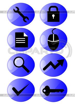 Web-Icons | Illustration mit hoher Auflösung |ID 3984544