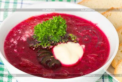 Borscht Stock Photos and Vektor EPS Clipart CLIPARTO