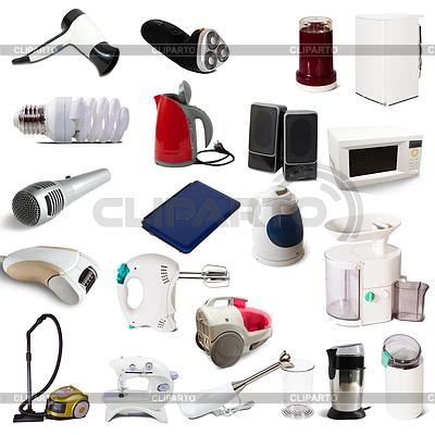 Zestaw urządzeń gospodarstwa domowego | Foto stockowe wysokiej rozdzielczości |ID 3986978