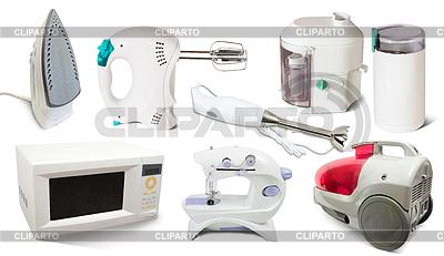 Set von Haushaltsgeräten | Foto mit hoher Auflösung |ID 4019719
