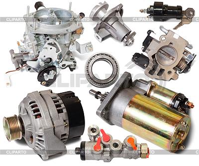 Set von Auto-Ersatzteilen | Foto mit hoher Auflösung |ID 4032094