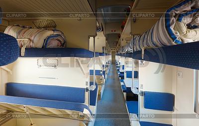 Interior of sleeping car | Foto stockowe wysokiej rozdzielczości |ID 4032155