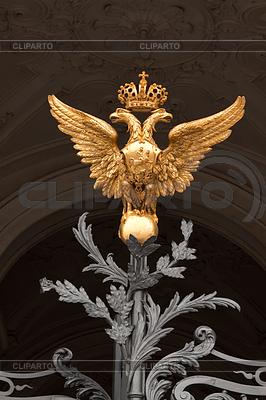 Golden two-headed eagle | Foto stockowe wysokiej rozdzielczości |ID 4044270