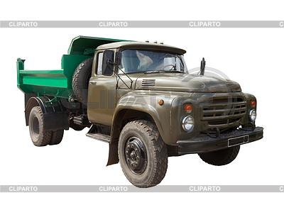 Vintage Soviet military truck | Foto stockowe wysokiej rozdzielczości |ID 4048636