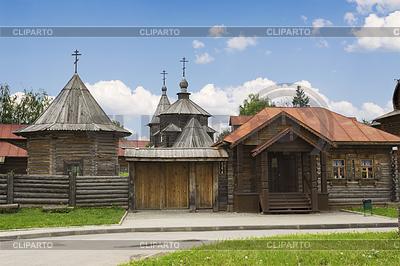 Architektur des achtzehnten Jahrhunderts. Russland | Foto mit hoher Auflösung |ID 4069409