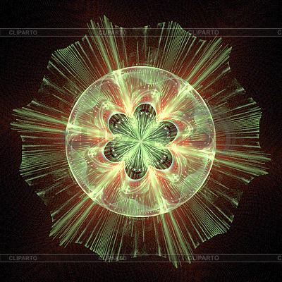Computer generierte abstrakte zeichnung von datensätzen mit klaren
