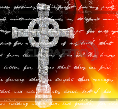 Keltisches Kreuz | Illustration mit hoher Auflösung |ID 4284601