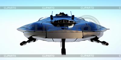 Nowoczesny myśliwiec | Stockowa ilustracja wysokiej rozdzielczości |ID 4284859